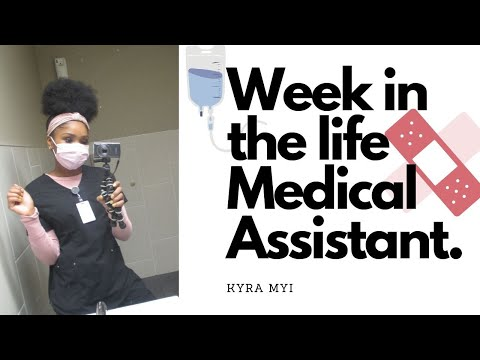 WEEK IN THE LIFE OF A MEDICAL ASSISTANT|SCRUBLIFE1